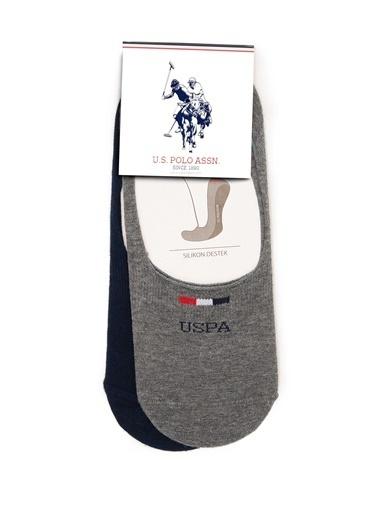 U.S.Polo Assn. Çorap Gri